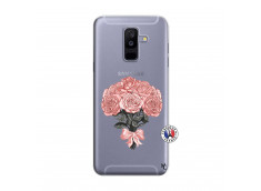 Coque Samsung Galaxy A6 Plus Bouquet de Roses