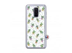 Coque Samsung Galaxy A6 Plus Le Monde Entier est un Cactus Translu