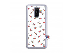 Coque Samsung Galaxy A6 Plus Cartoon Heart Translu