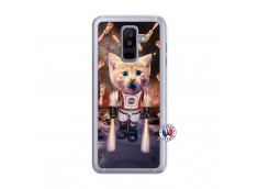 Coque Samsung Galaxy A6 Plus Cat Nasa Translu