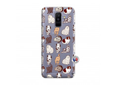 Coque Samsung Galaxy A6 Plus Cat Pattern