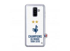 Coque Samsung Galaxy A6 Plus Champion Du Monde Translu