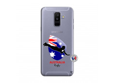 Coque Samsung Galaxy A6 Plus Coupe du Monde Rugby-Australia