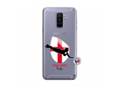 Coque Samsung Galaxy A6 Plus Coupe du Monde Rugby-England
