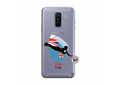 Coque Samsung Galaxy A6 Plus Coupe du Monde Rugby Fidji