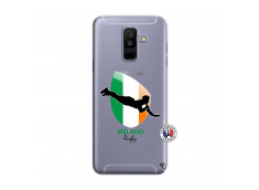 Coque Samsung Galaxy A6 Plus Coupe du Monde Rugby-Ireland