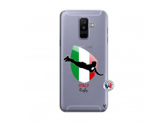 Coque Samsung Galaxy A6 Plus Coupe du Monde Rugby-Italy