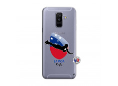 Coque Samsung Galaxy A6 Plus Coupe du Monde Rugby-Samoa