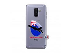 Coque Samsung Galaxy A6 Plus Coupe du Monde Rugby- Nouvelle Zélande