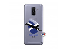 Coque Samsung Galaxy A6 Plus Coupe du Monde Rugby-Scotland
