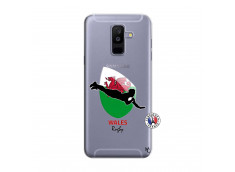 Coque Samsung Galaxy A6 Plus Coupe du Monde Rugby-Walles
