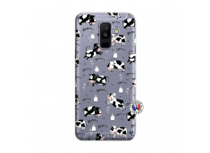 Coque Samsung Galaxy A6 Plus Cow Pattern