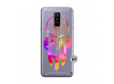 Coque Samsung Galaxy A6 Plus Dreamcatcher Rainbow Feathers