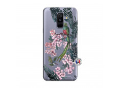 Coque Samsung Galaxy A6 Plus Flower Birds