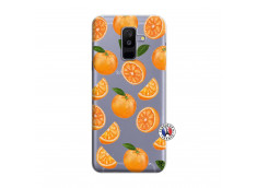 Coque Samsung Galaxy A6 Plus Orange Gina