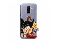 Coque Samsung Galaxy A6 Plus Goku Impact