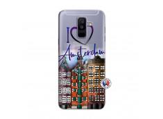 Coque Samsung Galaxy A6 Plus I Love Amsterdam