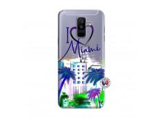 Coque Samsung Galaxy A6 Plus I Love Miami
