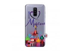 Coque Samsung Galaxy A6 Plus I Love Moscow