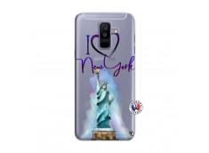 Coque Samsung Galaxy A6 Plus I Love New York