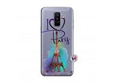 Coque Samsung Galaxy A6 Plus I Love Paris