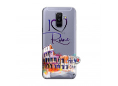 Coque Samsung Galaxy A6 Plus I Love Rome