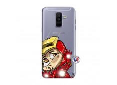 Coque Samsung Galaxy A6 Plus Iron Impact