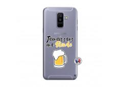 Coque Samsung Galaxy A6 Plus Jamais Sans Ma Blonde
