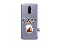 Coque Samsung Galaxy A6 Plus Jamais Sans Ma Brune