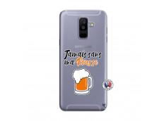Coque Samsung Galaxy A6 Plus Jamais Sans Ma Rousse