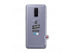 Coque Samsung Galaxy A6 Plus Je Crains Degun