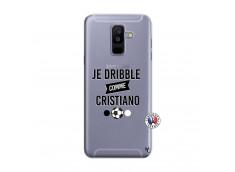 Coque Samsung Galaxy A6 Plus Je Dribble Comme Cristiano