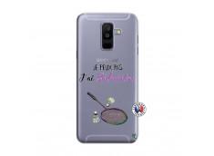 Coque Samsung Galaxy A6 Plus Je Peux Pas J Ai Badminton