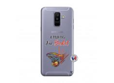 Coque Samsung Galaxy A6 Plus Je Peux Pas J Ai Basket