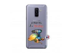 Coque Samsung Galaxy A6 Plus Je Peux Pas J Ai Bricolage