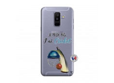 Coque Samsung Galaxy A6 Plus Je peux pas j'ai cricket
