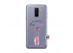 Coque Samsung Galaxy A6 Plus Je peux pas j'ai danse