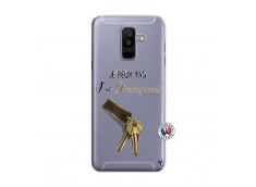 Coque Samsung Galaxy A6 Plus Je peux pas j'ai déménagement