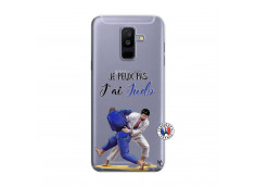 Coque Samsung Galaxy A6 Plus Je peux pas j'ai Judo