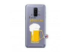 Coque Samsung Galaxy A6 Plus Je peux pas J'ai la Pression
