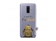 Coque Samsung Galaxy A6 Plus Je Peux Pas J Ai Rando