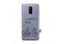 Coque Samsung Galaxy A6 Plus Je Peux Pas J Ai Velo