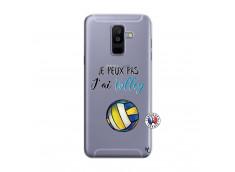 Coque Samsung Galaxy A6 Plus Je Peux Pas J Ai Volley
