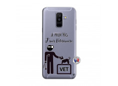 Coque Samsung Galaxy A6 Plus Je Peux Pas Je Suis Veterinaire