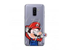 Coque Samsung Galaxy A6 Plus Mario Impact