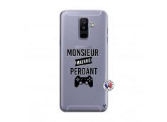 Coque Samsung Galaxy A6 Plus Monsieur Mauvais Perdant