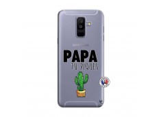 Coque Samsung Galaxy A6 Plus Papa Tu Piques