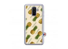 Coque Samsung Galaxy A6 Plus Sorbet Ananas Translu