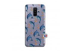 Coque Samsung Galaxy A6 Plus Dauphins
