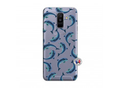Coque Samsung Galaxy A6 Plus Dolphins